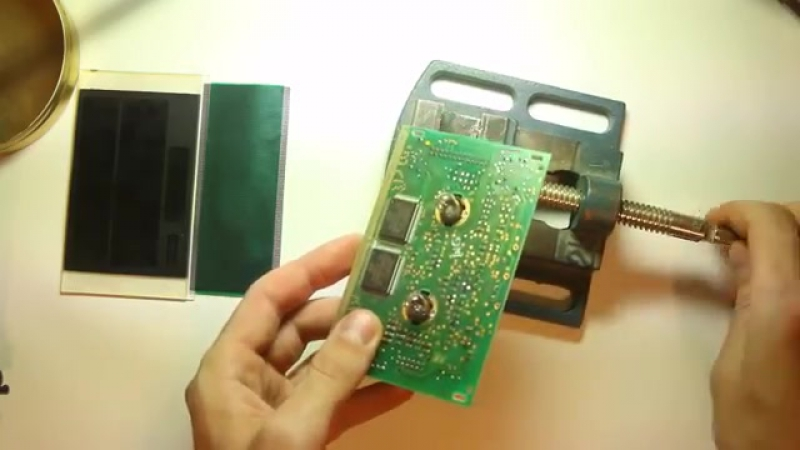 Ремонт MID дисплея Opel_repair Opel MID LCD