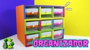 Organizador con cajas de Ferrero Rocher Reciclaje Ecobrisa