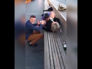 Турист из Польши ошибся губами