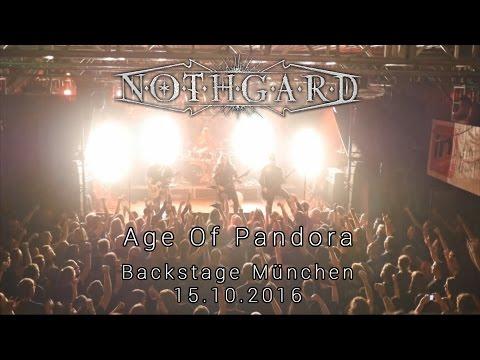 Nothgard - Age Of Pandora (Live @ Backstage Munich 2016)