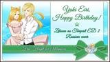 HBD, Yuki EiriFree Flight Chocola Happy Endings Zetsuen no Tempest ED2 RUS Cover