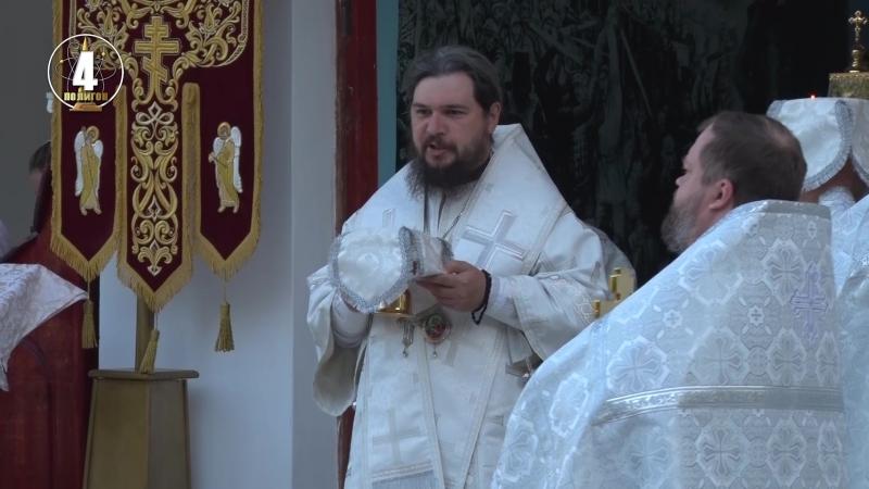 Престольный праздник в воинском храме Спаса Нерукотворного Ахтубинской епархии