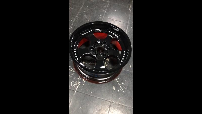 Порошковая покраска дисков АвтоРАД