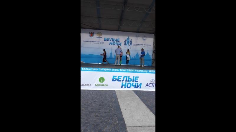 Награждение в группе 1999-2003 гг.р. Белые ночи 22 июля 2018 г. Санкт-Петербург