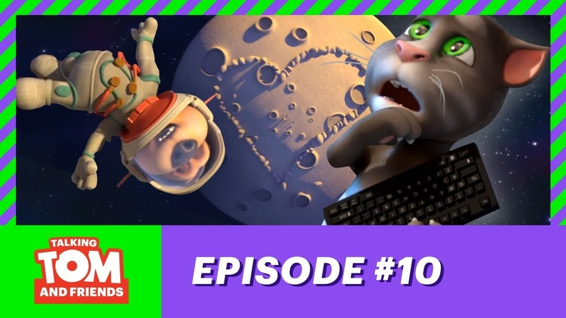 Talking Tom and Friends Man on the Moon 2 Season 1 Episode 10