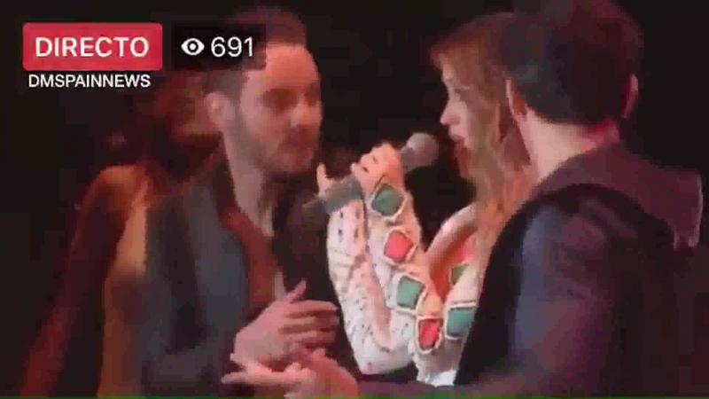 Dulce Maria - Cupido Criminal (Billboard Latin Music Showcase 170818)
