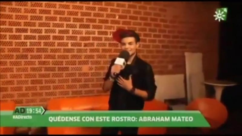 Abraham Mateo 15 años en Andalucia Directo