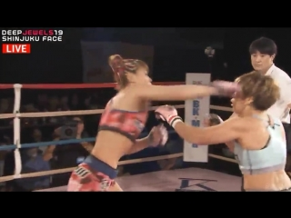 DEEP19: Yukari Nabe vs Kana Watanabe