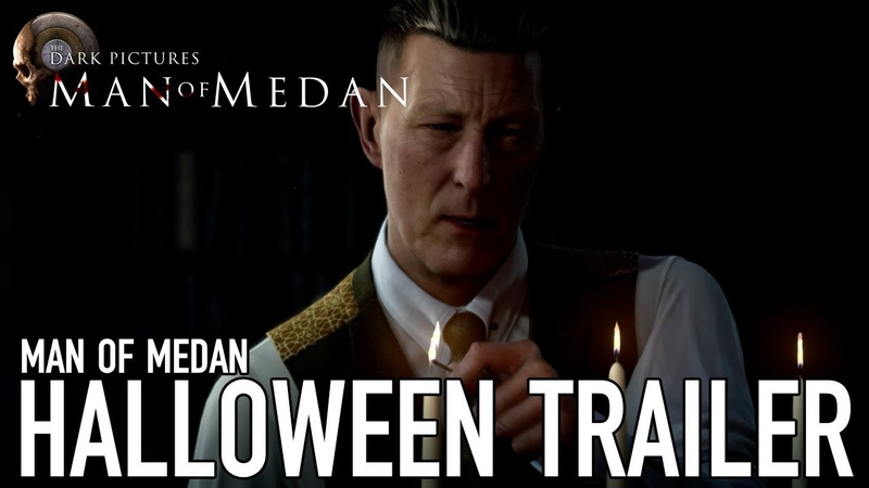 Dark Pictures: Man of Medan | Halloween Trailer | PS4 / Xbox 1 / PC