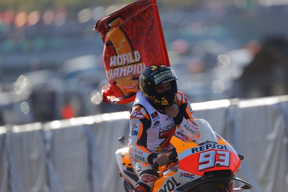 Марк Маркес - чемпион MotoGP 2018