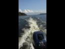 Sea Pro 9.9, аналог Ямахи, идем по Выборскому заливу. 😎