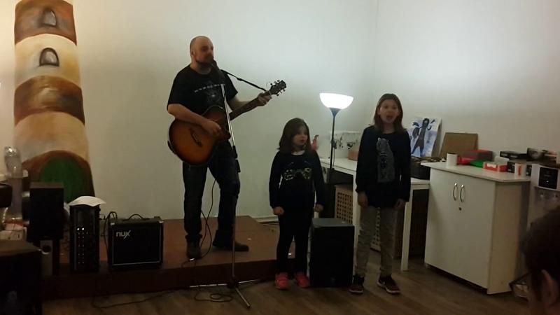 Яна, Дари и Фред Адра -