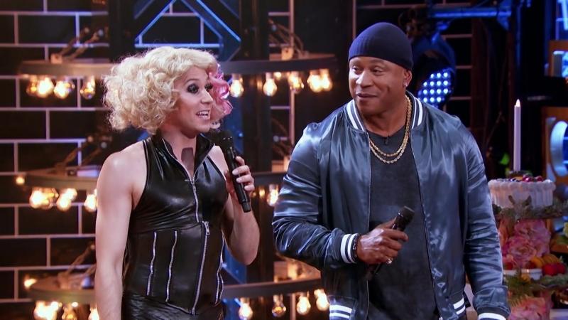 Johnny Weir as Lady Gaga at LypSync Battle