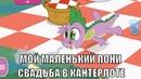 Май Литл Пони Королвская свадьба в Кантерлоте Дружба это чудо Мультик игра для детей