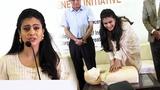 Kajol At Launch Sudden Cardiac Arrest Awareness Initiative (SCAAI)