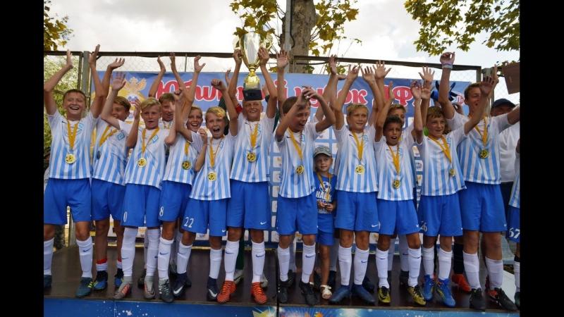 Награждение Динамо-2006 победителя ДФЛ
