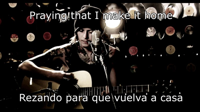 Asking Alexandria - Someone Somewhere - Ben Bruce acoustic (Letra esp ing)