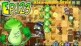 Plants vs. Zombies 2 Big Bad Butte level 1 (Ep.123)