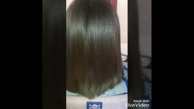 нанопластика волос 4 6 мес