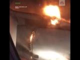 В аэропорту Уфы приземлился лайнер с пылающим двигателем
