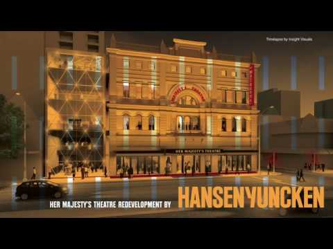 Her Majesty's Theatre Redevelopment Timelapse March - July 2018
