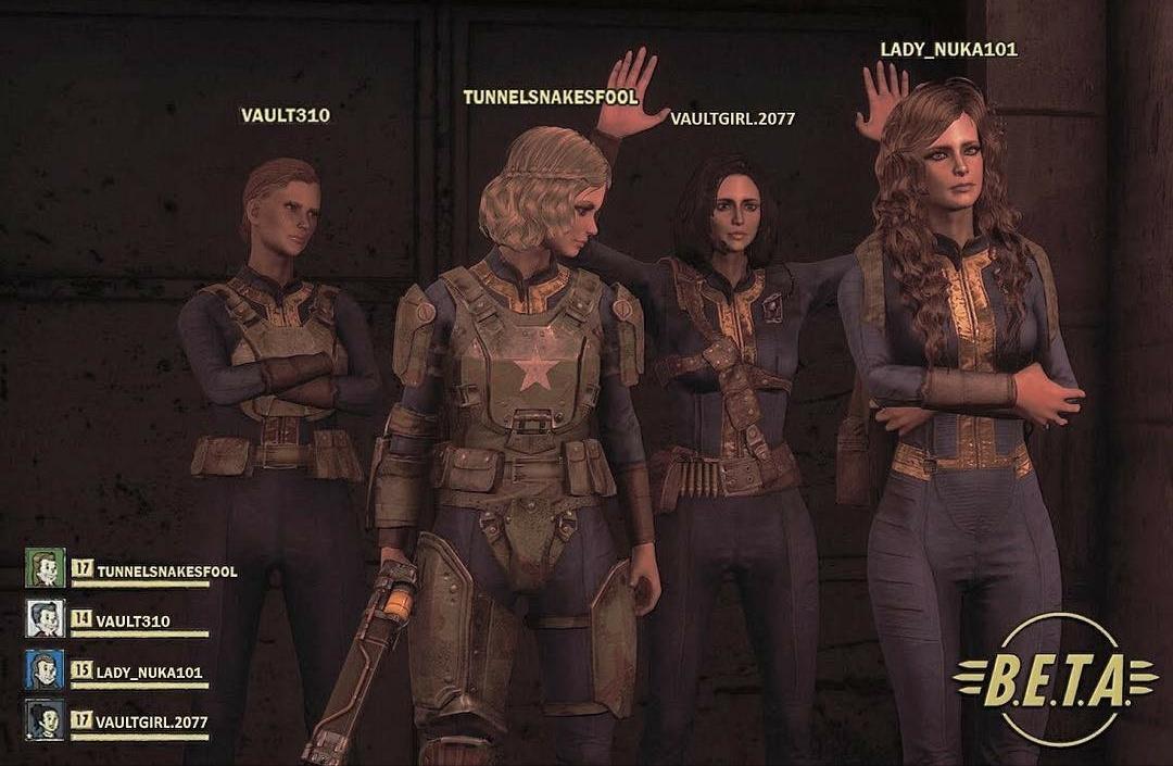 А вы уже нашли друзей для БЕТА теста Fallout76 ?
