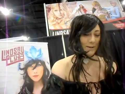 Lindsay Elyse cosplayer interview @ Phoniex Comic Fest May 25 day 2 2018