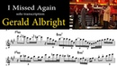 Gerald Albright with Phill Collins Live I Missed Again Amazing Pop Saxophone Solo