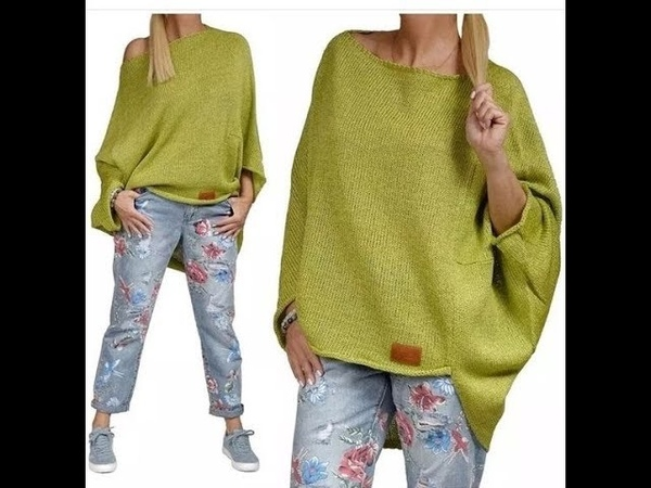Вязание Спицами Модные Пуловеры 2019 Knitting with Needles Fashionable Pullovers