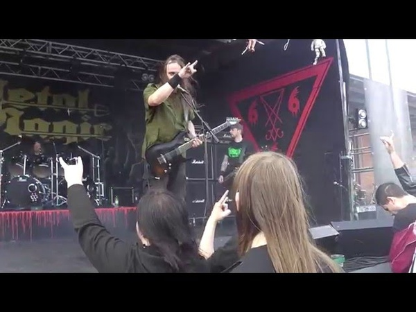 Iniquity - Mockery Retained to Obturate LIVE at Metal Magic VIII (2015)