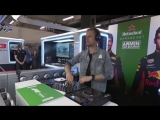 Armin van Buuren play from the garage at the Chinese Grand Prix Formula 1 race Shanghai!