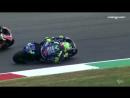 Rossi vs Lorenzo in Mugello - to me, to you, to me...