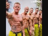 Австралийские пожарные: сексуальные борцы с огнём