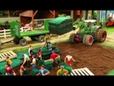 Rc Tractor Action A NEW LAWN ON THE FARM Rc Toy Fun