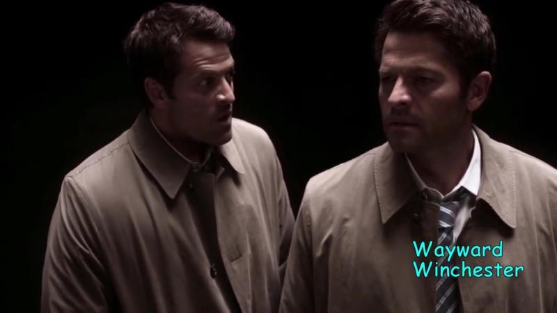 Supernatural 13x04 Castiel VS Bizarro Castiel Who Tortures Him Explains The Em