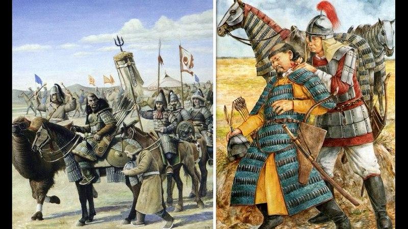 Смута в Монгольской империи. Империя Чингисхана после смерти