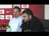 Самые яркие моменты детской пресс-конференции футболистов «Спартака»