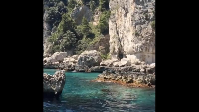Остров Капри, Италия🏖
