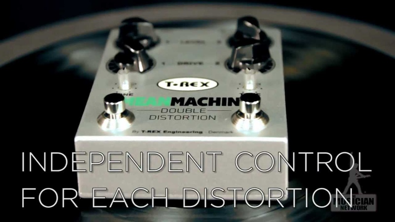T-REX Mean Machine Double Distortion Pedal Review Giveaway - GearUP on TMNtv!