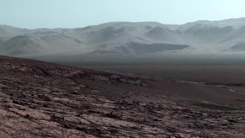 Марс 2018 Рассвет на Марсе Панорамы Марса скалы Марса вблизи Снимки NASA