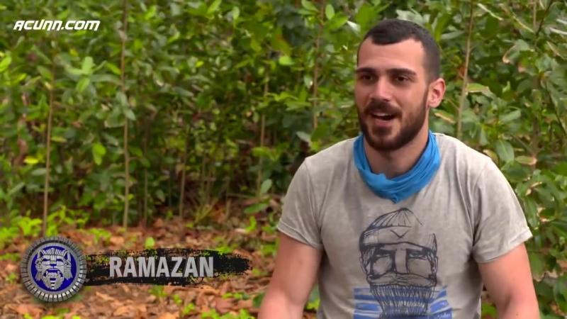 Survivor 2018 TVde Yok Marcus Hakanla iddiaya girdi ve ağaca tırmandı