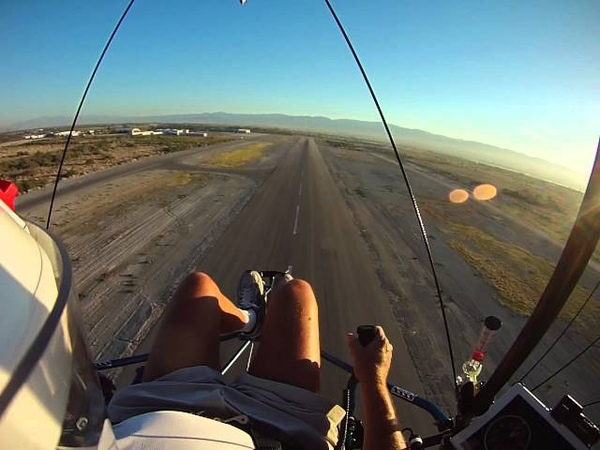 Ultra Slow Ultralight Take Off and Landing