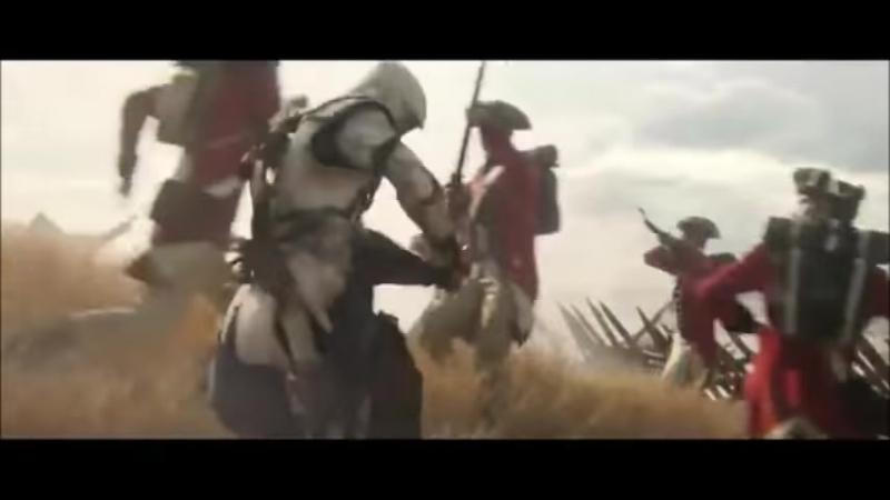 Imagine Dragons Radioactive music video ft. Assassins Creed 3 - YouTube
