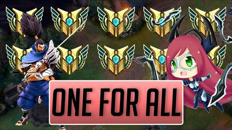 One For All 2 - Yasuo , Riven , Irelia more ( LOLPlayVN Community ) ( League of Legends ) » Freewka.com - Смотреть онлайн в хорощем качестве