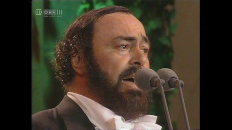 Luciano Pavarotti in Central Park (Нью-Йорк, 26.06.1993)