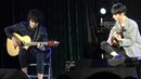 Fly Me To The Moon - Satoshi Gogo and Sungha Jung (live)