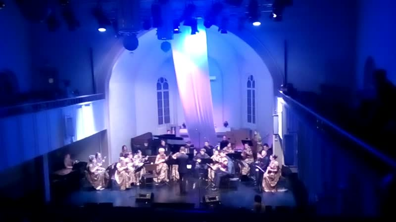 Михаил Леничко, исп. оркестр Терема - Фантазия на тему р.н.п. То не ветер ветку клонит