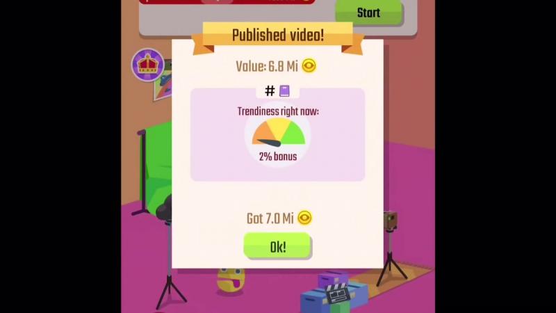 [Zhuravlev] Симулятор видеоблогера для iOS и Android или Vlogger Go Viral
