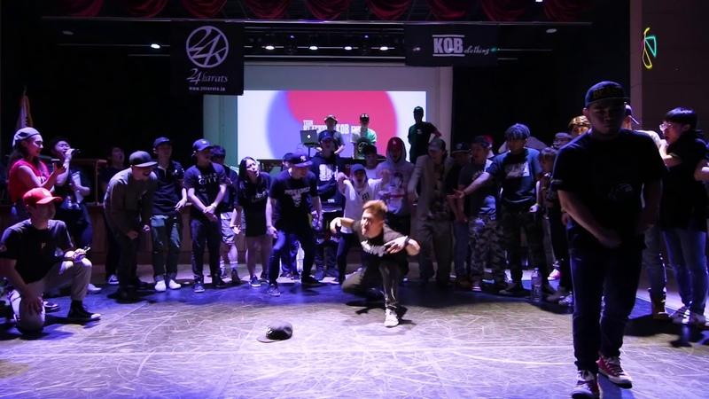 FINAL - Cruger vs Rumbler|KING OF BUCK 9 KOREA PRESLECTION|2018.06.17