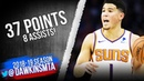 Devin Booker Full Highlights 2018.11.19 Suns vs 76ers - 37 Pts, 8 Asts!   FreeDawkins